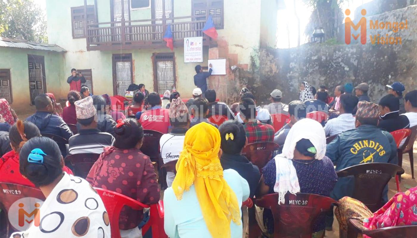 पाल्पाको तल्लो कोलडाँडाँ टोल सभा गठन