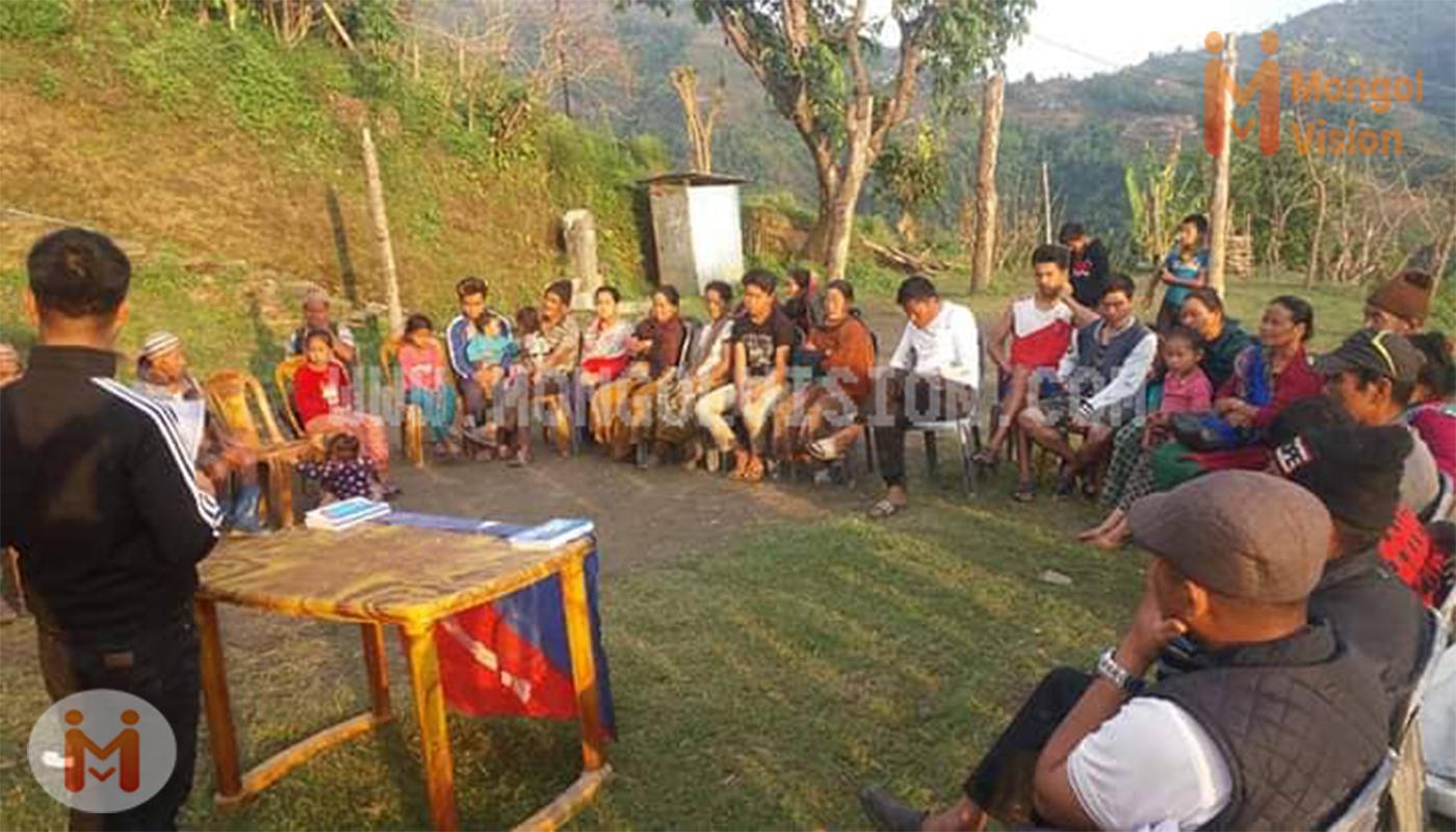 सुलिकोटको चुनडाँडामा एमएनअोको प्रशिक्षण