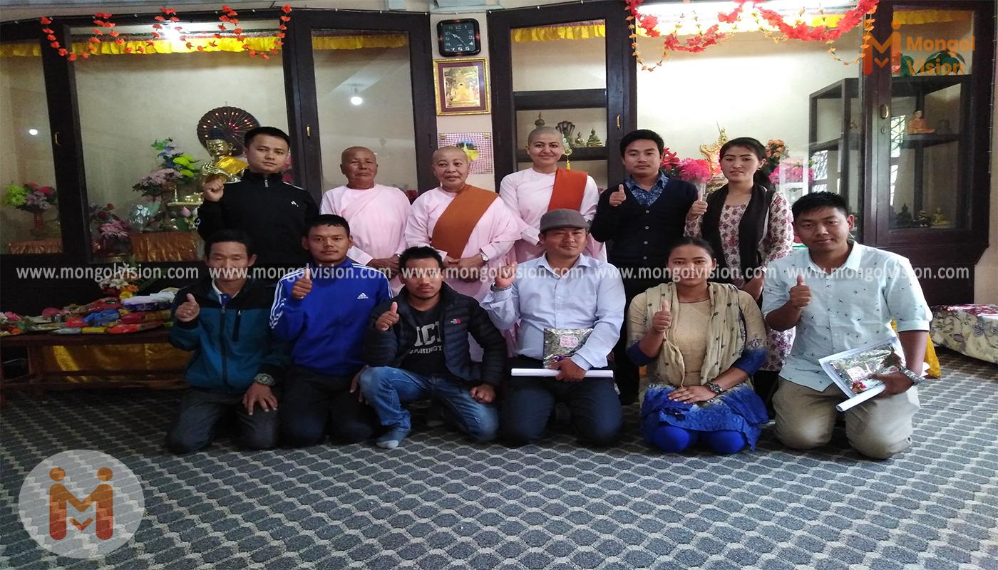 एमएनओका नेतागण नेपाल बौद्ध परियत्ति शिक्षामा सफल