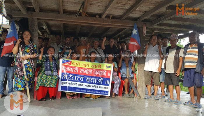मोरङको मिक्लाजुङ गाउँसभामा टोल सभा गठन