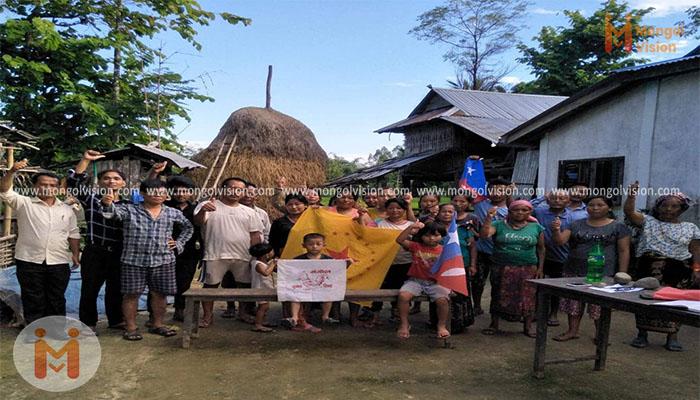 मोरङको पथरीमा मंगोल राष्ट्रवाद सम्बन्धि प्रशिक्षण सम्पन्न