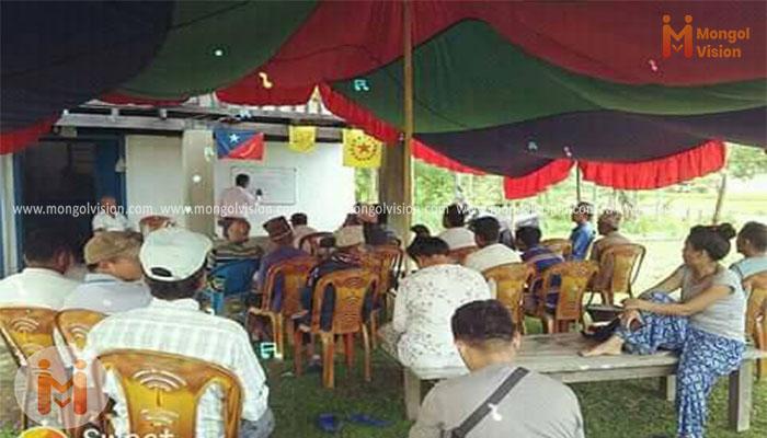 झापाको बुद्धशान्तिमा मंगोल राष्ट्रवाद सम्बन्धि प्रशिक्षण सम्पन्न