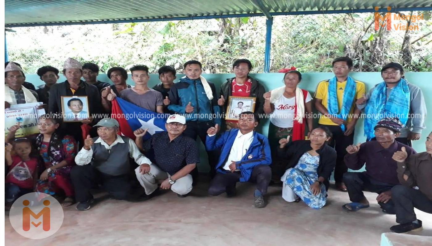 तनहुँको घिरिङ गा.पा-०३ नेवा:पानीमा मंगोल प्रशिक्षण