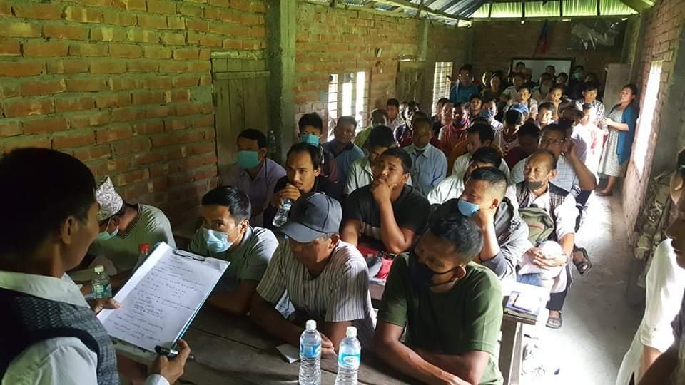 मोरङको बेलबारी मिरमिरे चोकमा कार्यकर्ता प्रशिक्षण कार्यक्रम सम्पन्न